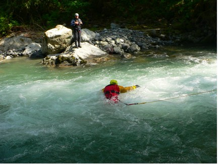 WGSAR Swift water exercise